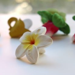 mini fleur en caoutchouc oli and carol