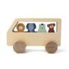 bus en bois animaux trixie baby