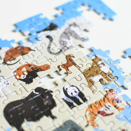 puzzle animaux poppik