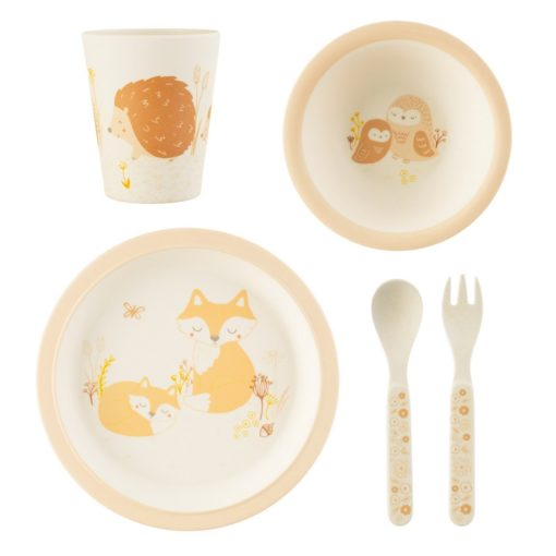 set vaisselle foret sass and belle