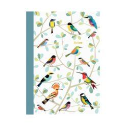 cahier oiseaux cartes d'art