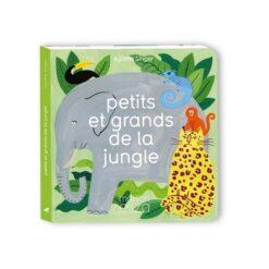 livre petits et grands de la jungle maison eliza