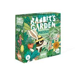 puzzle rabbit's garden londji
